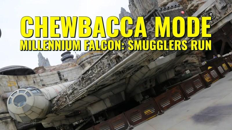 Chewbacca Mode - Millennium Falcon_ Smugglers Run