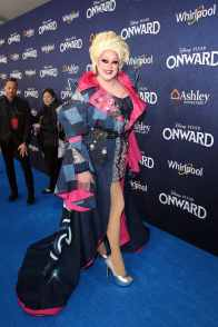 HOLLYWOOD, CALIFORNIA - FEBRUARY 18: Nina West attends the world premiere of Disney and Pixar's ONWARD at the El Capitan Theatre on February 18, 2020 in Hollywood, California. (Photo by Jesse Grant/Getty Images for Disney)
