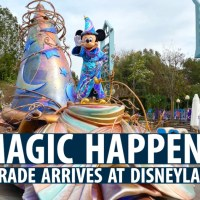 Magic Happens Parade Arrives at Disneyland