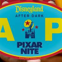 Special Gift for Disneyland Annual Passholders at Disneyland After Dark Pixar Nite