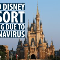 Tokyo Disney Resort Closing Due to Coronavirus