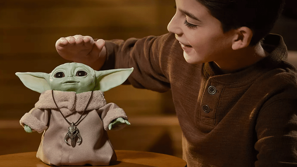 Hasbro's Baby Yoda Animatronic Edition Sells Out of Disney Pre-Order
