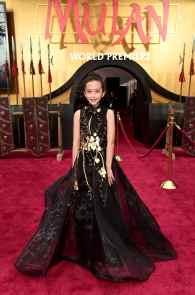 HOLLYWOOD, CALIFORNIA - MARCH 09: Delphine Huang attends the World Premiere of Disney's 'MULAN' at the Dolby Theatre on March 09, 2020 in Hollywood, California. (Photo by Alberto E. Rodriguez/Getty Images for Disney)