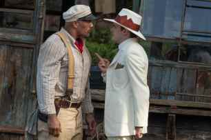 Dwayne Johnson is Frank and Jack Whitehall is Macgregor in Disney's JUNGLE CRUISE.