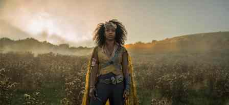 Naomi Ackie is Jannah in STAR WARS: THE RISE OF SKYWALKER.