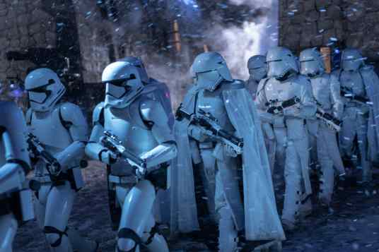 Stormtroopers in STAR WARS: THE RISE OF SKYWALKER.