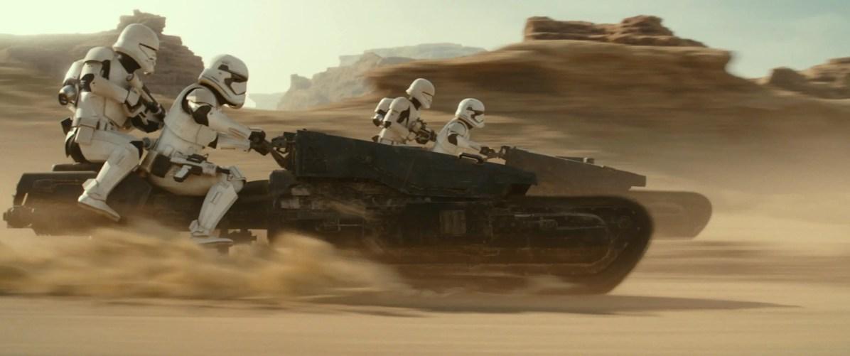 Stormtroopers in STAR WARS: THE RISE OF SKYWALKER