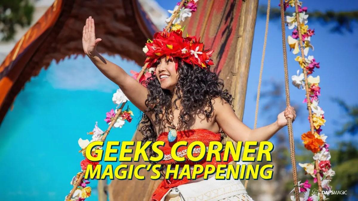 GEEKS CORNER - Magic's Happening