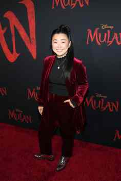 HOLLYWOOD, CALIFORNIA - MARCH 09: Sherry Cola attends the World Premiere of Disney's 'MULAN' at the Dolby Theatre on March 09, 2020 in Hollywood, California. (Photo by Jesse Grant/Getty Images for Disney)