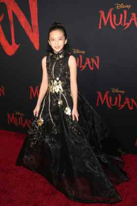HOLLYWOOD, CALIFORNIA - MARCH 09: Delphine Huang attends the World Premiere of Disney's 'MULAN' at the Dolby Theatre on March 09, 2020 in Hollywood, California. (Photo by Jesse Grant/Getty Images for Disney)