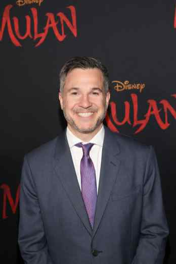 HOLLYWOOD, CALIFORNIA - MARCH 09: Producer Jake Weiner attends the World Premiere of Disney's 'MULAN' at the Dolby Theatre on March 09, 2020 in Hollywood, California. (Photo by Jesse Grant/Getty Images for Disney)