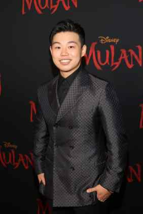 HOLLYWOOD, CALIFORNIA - MARCH 09: Jun Yu attends the World Premiere of Disney's 'MULAN' at the Dolby Theatre on March 09, 2020 in Hollywood, California. (Photo by Jesse Grant/Getty Images for Disney)
