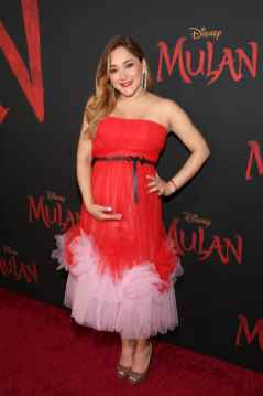 HOLLYWOOD, CALIFORNIA - MARCH 09: Sherlyn attends the World Premiere of Disney's 'MULAN' at the Dolby Theatre on March 09, 2020 in Hollywood, California. (Photo by Jesse Grant/Getty Images for Disney)