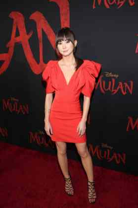 HOLLYWOOD, CALIFORNIA - MARCH 09: Kimiko Glenn attends the World Premiere of Disney's 'MULAN' at the Dolby Theatre on March 09, 2020 in Hollywood, California. (Photo by Jesse Grant/Getty Images for Disney)