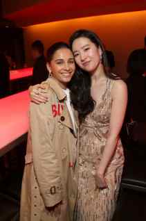HOLLYWOOD, CALIFORNIA - MARCH 09: Naomi Scott and Yifei Liu attends the World Premiere of Disney's 'MULAN' at the Dolby Theatre on March 09, 2020 in Hollywood, California. (Photo by Jesse Grant/Getty Images for Disney)Yifei Liu