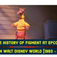 The History of Figment at EPCOT Center in Walt Disney World (1983 - Present)