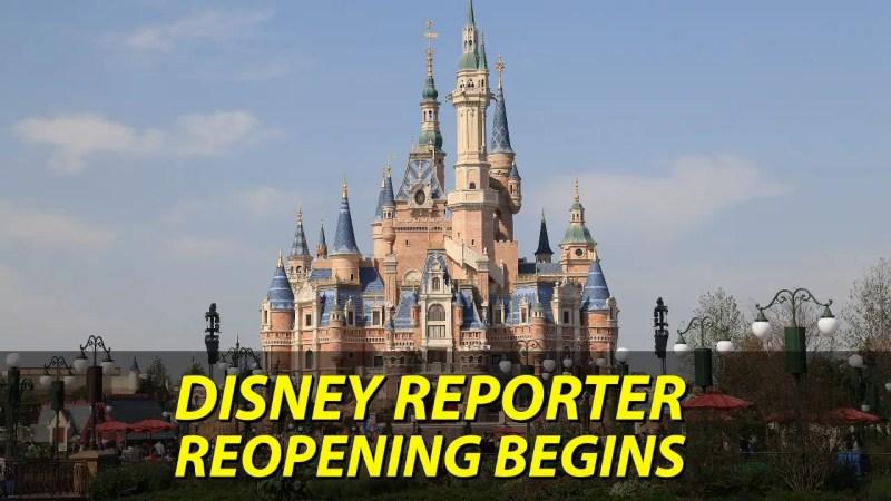 Reopening Begins - DISNEY Reporter
