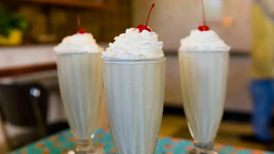 Peanut Butter & Jelly Milk Shake from 50's Prime Time Café - GEEK EATS Disney Recipe