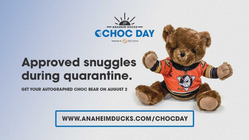 Anaheim Ducks CHOC Day