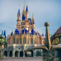 With Magic Kingdom Reopening, Guests Get Up Close Look at Newly Painted Cinderella Castle!