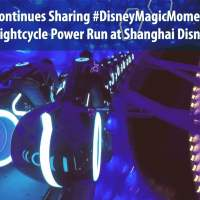 Disney Continues Sharing #DisneyMagicMoments With TRON Lightcycle Power Run at Shanghai Disneyland
