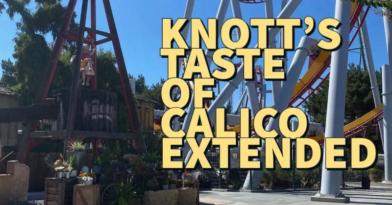 knott's taste of calico