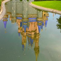 Cinderella Castle Moat Refilled at Magic Kingdom