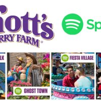 Knott's Berry Farm Adds Playlists to Spotify