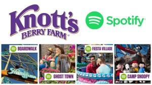 Knotts Berry Farm Spotify Playlists