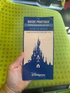 Disneyland Paris Map/Guide