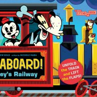 All Aboard! Mickey's Railway Activity Book Coming in March 2021
