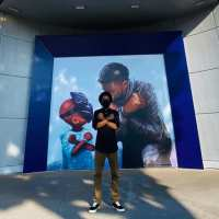 Chadwick Boseman Tribute by Nikkolas Smith Appears at Downtown Disney