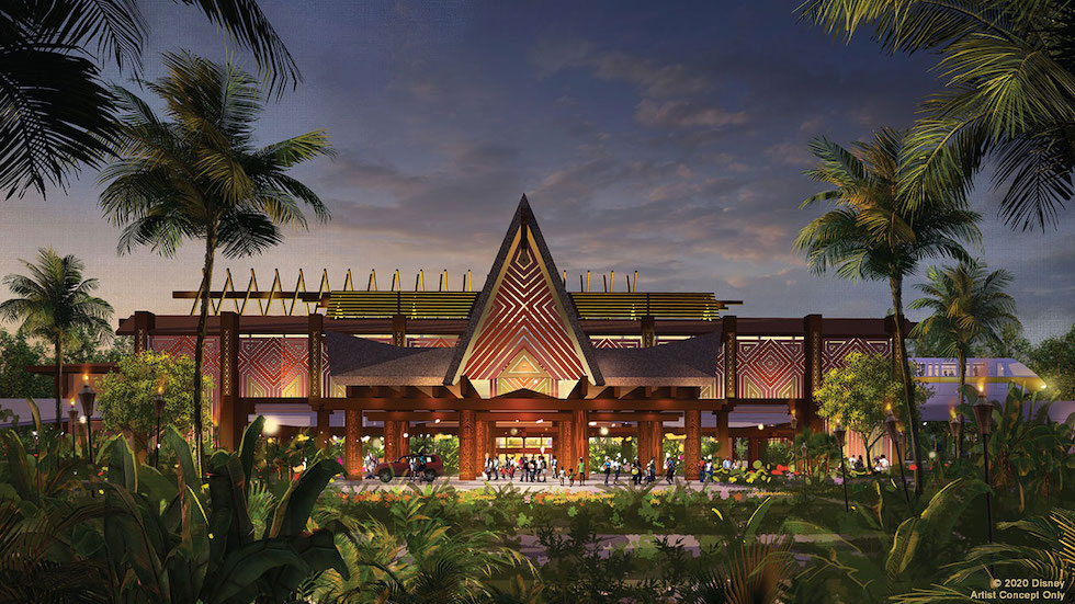 Disney's Polynesian Village Resort Unveils New Planned Entryway