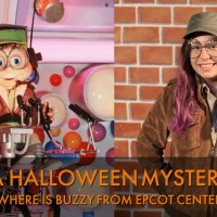 A Halloween Mystery - Where is Buzzy from EPCOT Center?