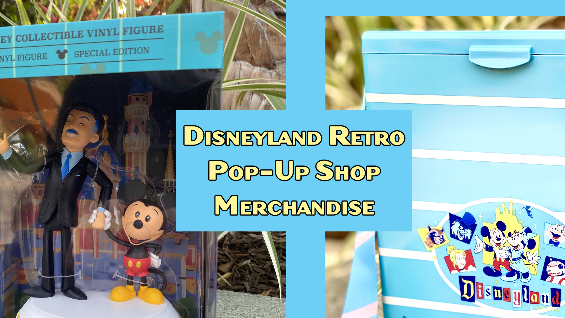 More Disneyland 65th Anniversary in the Pop Up Shop Shows Off Retro Items