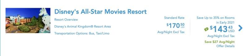 Disney's All-Star Resort 2021