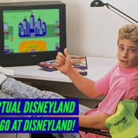 Visiting Virtual Disneyland - 30 Years Ago at Disneyland