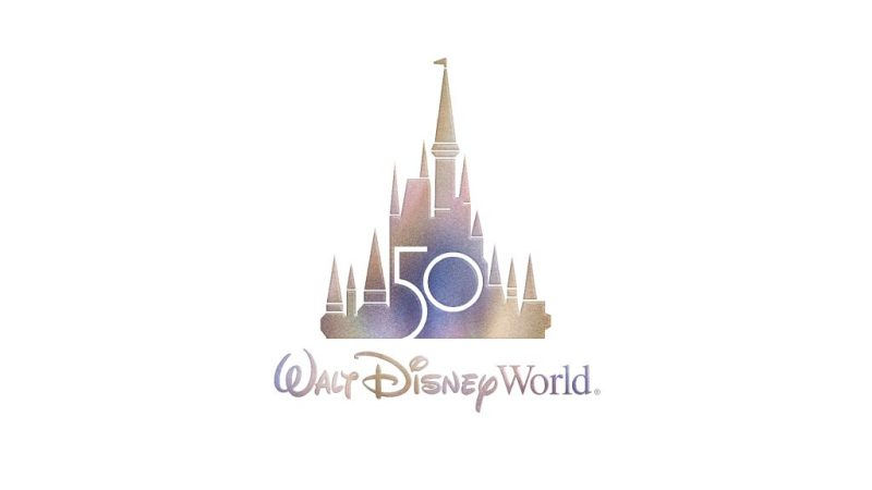 Walt Disney World 50th Anniversary Logo - Featured Image