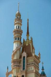 Castle of Magical Dreams Towers Hong Kong Disneyland-10