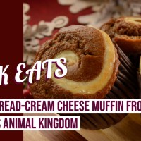 Gingerbread-Cream Cheese Muffin - GEEK EATS Disney Recipe