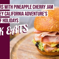 Ham Sliders with Pineapple Cherry Jam - GEEK EATS Disney Recipe