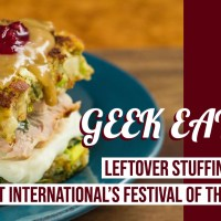 Leftover Stuffing Waffles - GEEK EATS Disney Recipes
