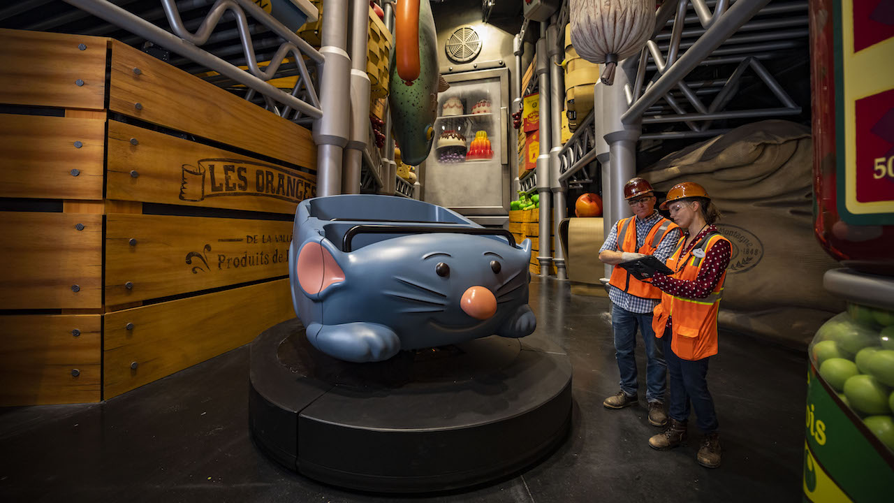 ABC and Disney Parks Share Inside Look at Remy's Ratatouille Adventure in EPCOT