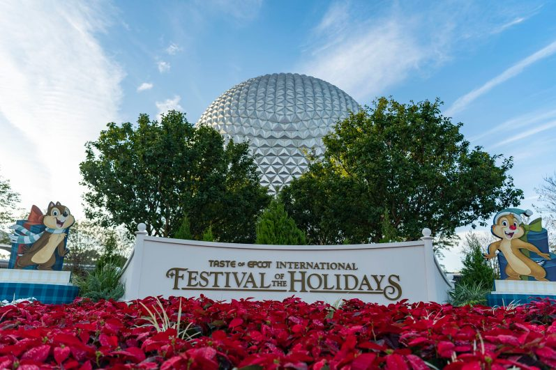 The Taste of EPCOT International Festival of the Holidays presented by AdventHealth brings seasonal fun from around the globe to the Walt Disney World Resort theme park in Lake Buena Vista, Fla., through Dec. 31, 2020. The event features delicious food, activities for the whole family, a chance to see Disney characters in their holiday finest, and more. (Matt Stroshane, photographer)