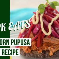Blue Corn Pupusa - GEEK EATS Disney Recipe
