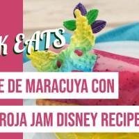 Mousse de Maracuya con Pitaya Roja Jam - GEEK EATS Disney Recipe