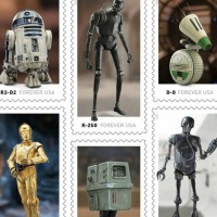 U.S. Postal Service Announces Star Wars Droids Stamps