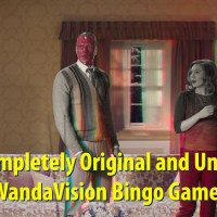 The Completely Original and Unofficial WandaVision Bingo Game!