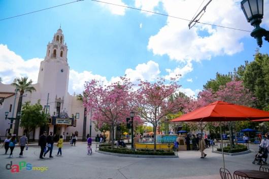 Carthay Circle from Buena Vista Street