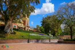 A look inside Disneyland from the side main gate